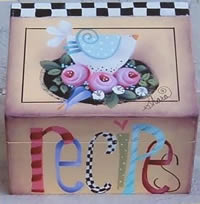 Recipe Box Packet by Shara Reiner