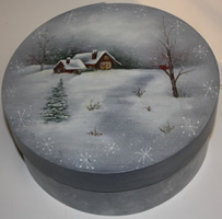 Winter Delight Bentwood Box