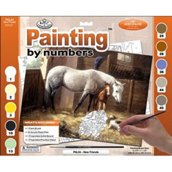 New Friends Royal and Langnickel Painting by Number Set