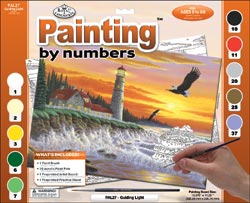 Guiding Light Paint by Number Set