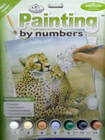 Leopard Junior Small Painting by Numbers