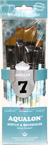 Aqualon 7 Piece Angular Brush Set
