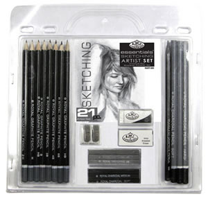 21 Piece Essentials Sketching Artist Set