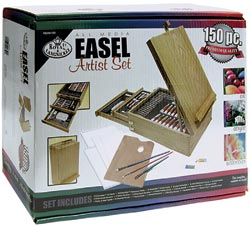150 Piece All Media Artist Easel Set