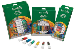 Reeves Acrylic Paint Sets
