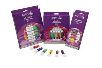 Reeves Oil Paint Sets