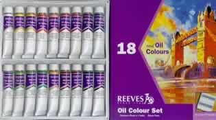 Reeves Artists Oil Color Paint Set