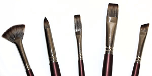 Royal SableTek Oil Brushes