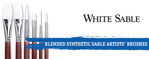 Robert Simmons White Sable Watercolor Brush Watercolor Round 6