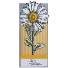 Daisy Stampendous Stamp Card