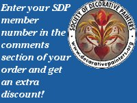 Society of Decorative Painter's Discount