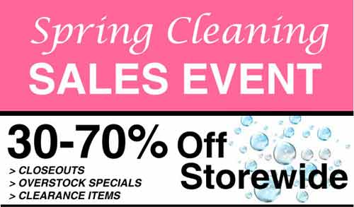 Hofcraft Spring Cleaning Sale - Save up to 70% storewide!