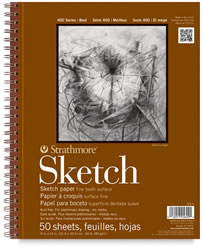 "Strathmore 400 Series Sketchc Pad, 9"" x 12"""