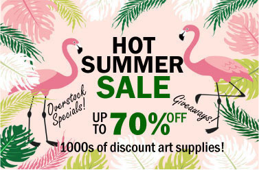 Hofcraft Summer Sales Event 2018 - Up to 70% Off Thousands of Art Supplies!