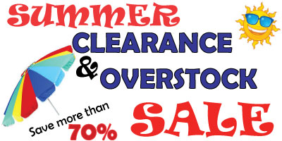Hofcraft Summer Overstock and Clearance SALE!
