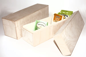Wood Tea Boxes