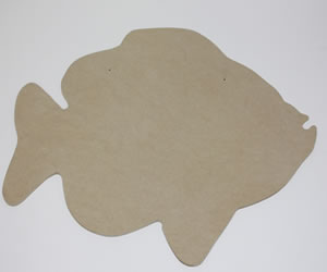 Bluegill Large Wood Cut Out