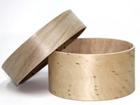 Plain Bentwood Shaker Style Pin Cushion Box