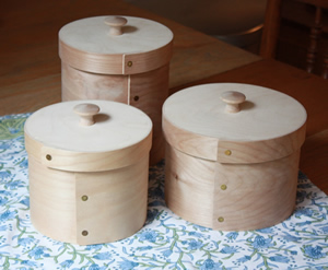 Bentwood Shaker Style Canisters