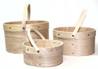 Bentwood Oval Open Top Carry Buckets