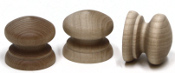 British Wood Knobs