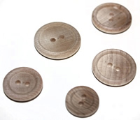 Wood Craft Buttons