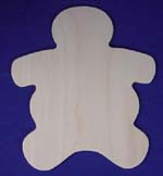 Gingerbread Man Cut Out