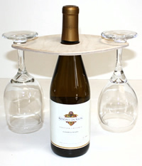 Floating Wine Glass Holder