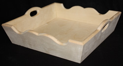 "Square Serving Tray 10"" x 10"""