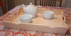 Wooden Rectangular Serving Tray