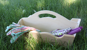 Tool and Tray Garden Tote