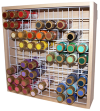 Craft Paint Storage Rack