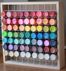 Craft Paint Storage Rack - Best seller!