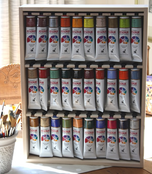 Small Jo Sonja Paint Tube Storage Rack
