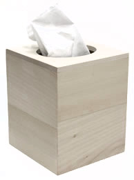Walnut Hollow Boutique Tissue Cover Box