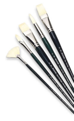 Winsor and Newton Winton Hog Bristle Brushes
