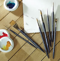 Winsor and Newton Artists Watercolor Brushes