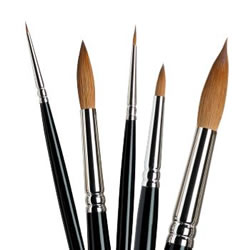Winsor and Newton Kolinsky Sable Brushes
