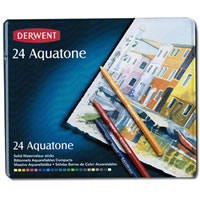 Derwent Aquatone Watercolor Sticks