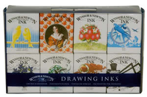 Winsor and Newton Henry Ink Set