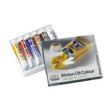 Winton Oil Color Set, 6 x 21 ml tubes
