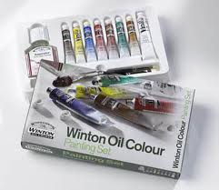 Winton Oil Color Painting Set