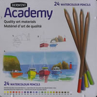 Derwent Academy Watercolor Pencil Set of 24