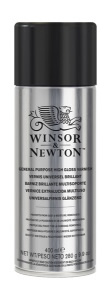 Winsor and Newton's General Purpose Spray Varnishes