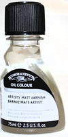 Winsor and Newton Artists' Matte Varnish