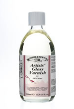 500 ml Artists Gloss Varnish