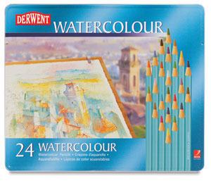 Derwent Watercolour Pencil Tin Sets