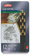Derwent 12 Pencil Technical Set