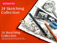 24 Piece Sketching Collection Derwent