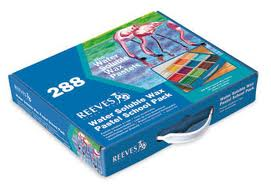 288 Water Soluble Wax Pastel Set, Reeves School Pack